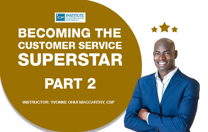 Becoming A Customer Service Superstar 02